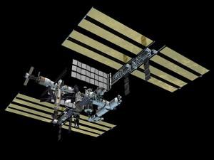 Het voltooide ISS