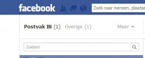facebook-berichtenbox