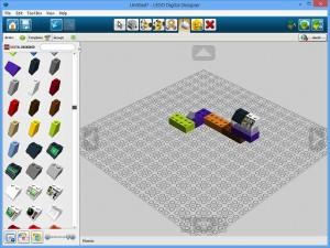 Het ontwerpscherp van Lego Digital Designer