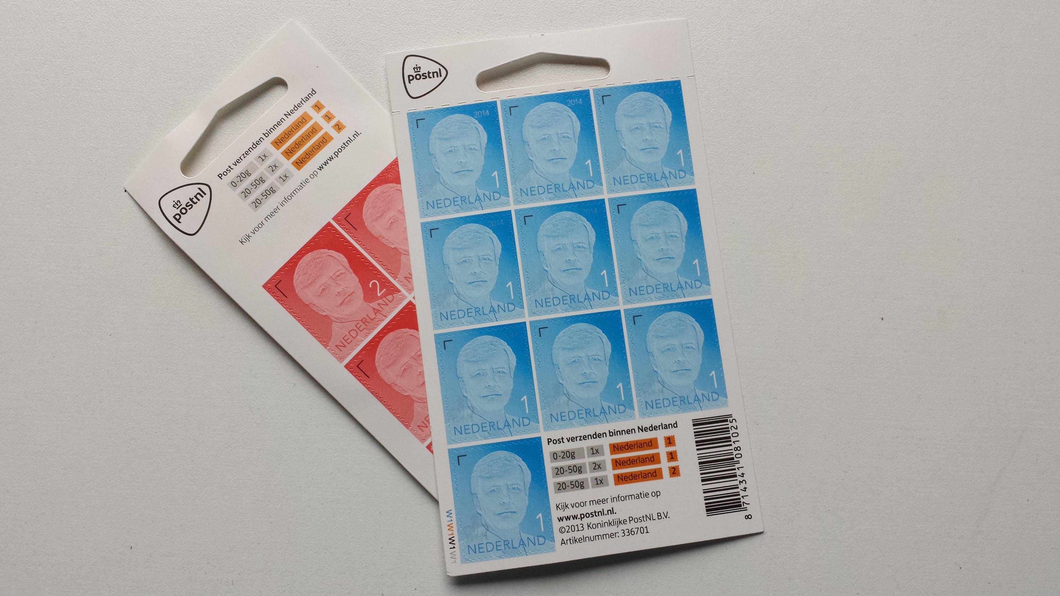 Wat kost een postzegel in 2017?